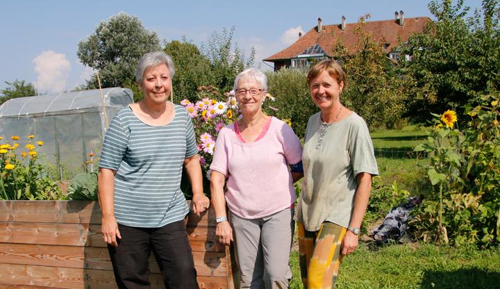 Gartengruppe 3 Frauen