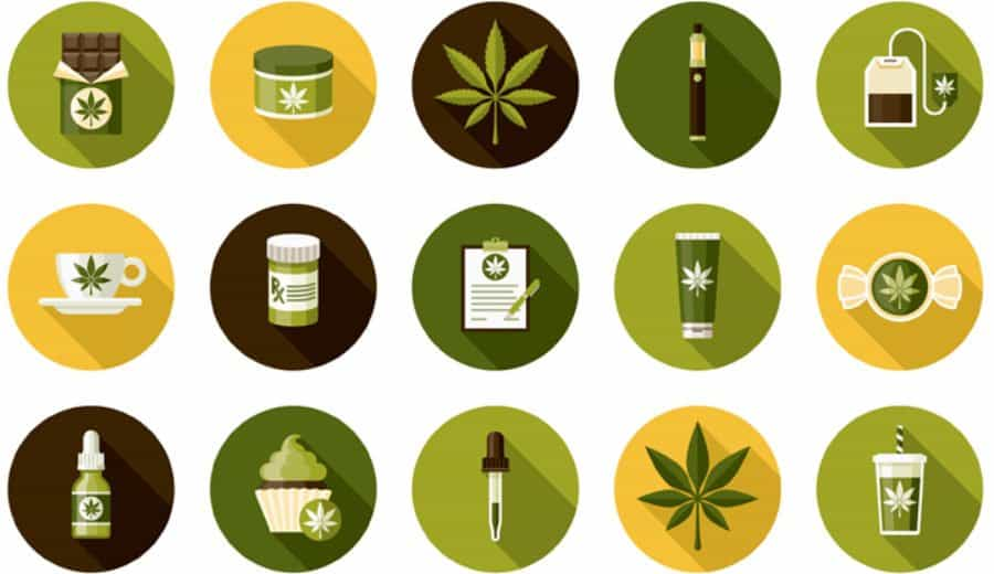 Cannabis Icons I Stock 1085450204