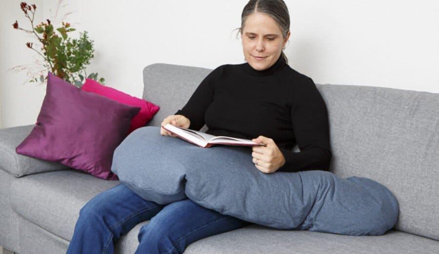 Entspannungskissen Lesen