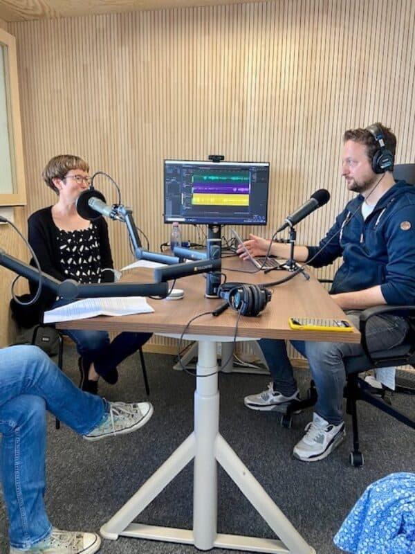 Martina Roffler und Hannes Diggelmann