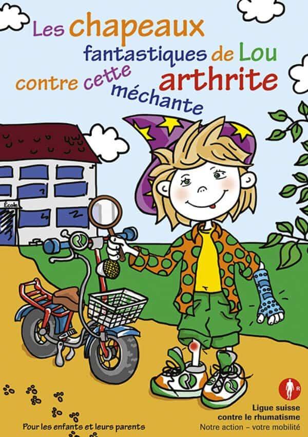 Brochure pour les enfants atteints d'arthrite
