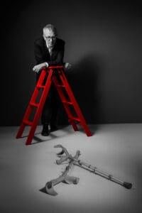 «Das Alter ist nichts für Feiglinge. Es braucht Mumm, zu sagen: ‹Ja, ich bin gestürzt.›» Peter Rothenbühler, Journalist