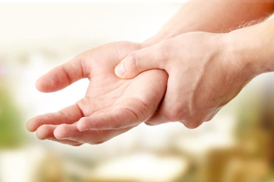 Arthritis der Hand