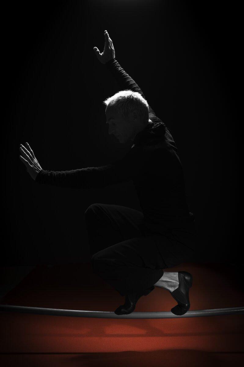 David Dimitri, Seiltänzer «Meine Füsse halten mich im Gleichgewicht.»