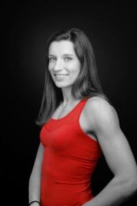 Portrait von Ellen Sprunger, Siebenkämpferin.