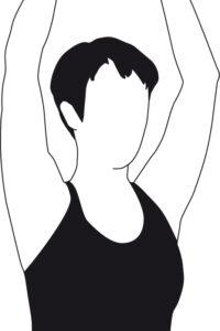 Schulter-Übung 2: Richtung Decke strecken