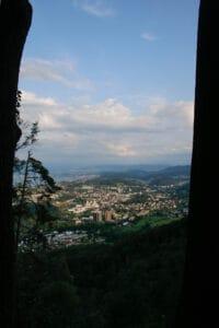 Panoramasicht auf Zürich