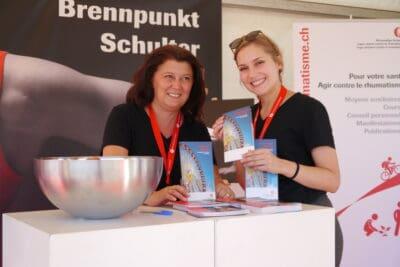 Information und Beratung am Rheumaliga-Stand.