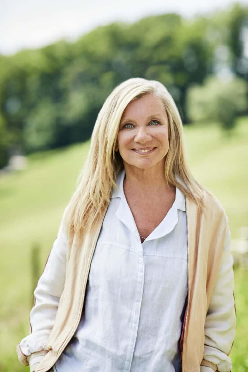 Bea Petri: Plus je vieillis, plus j'apprécie le contact avec la nature.