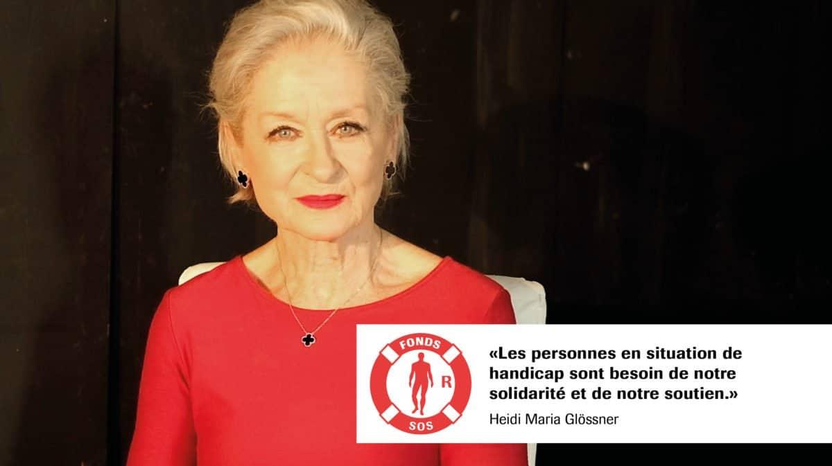 Heidi Maria Glössner pour le Fonds SOS