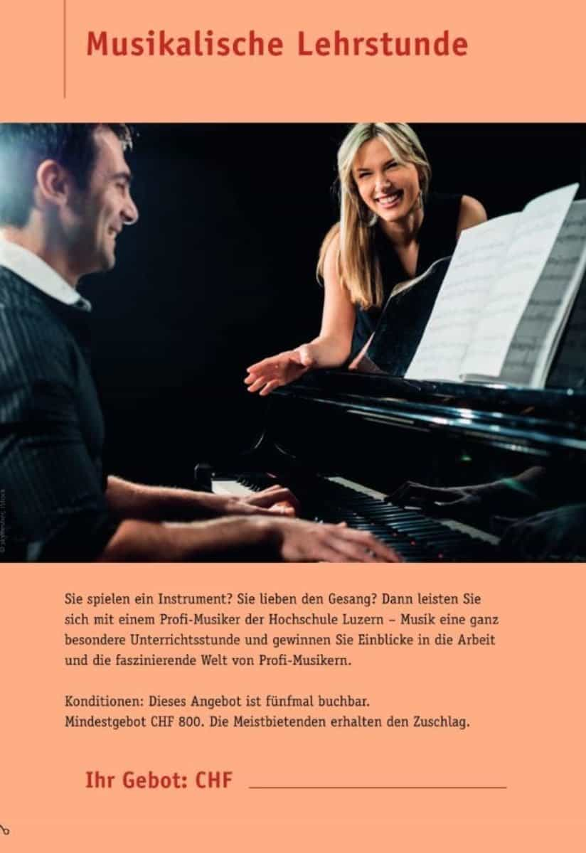 Musikalische Lehrstunde