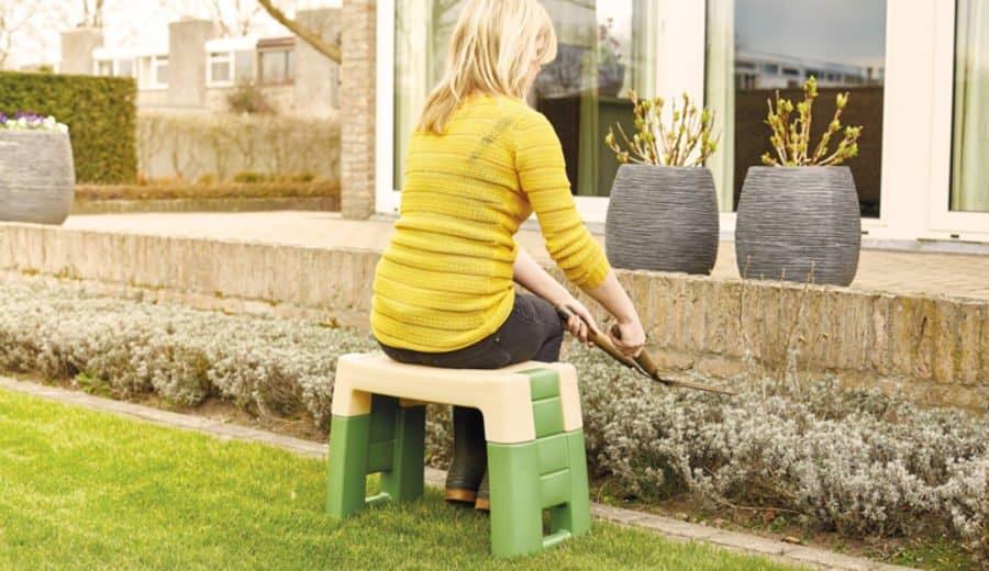 Gartensitz In Anwendung 1