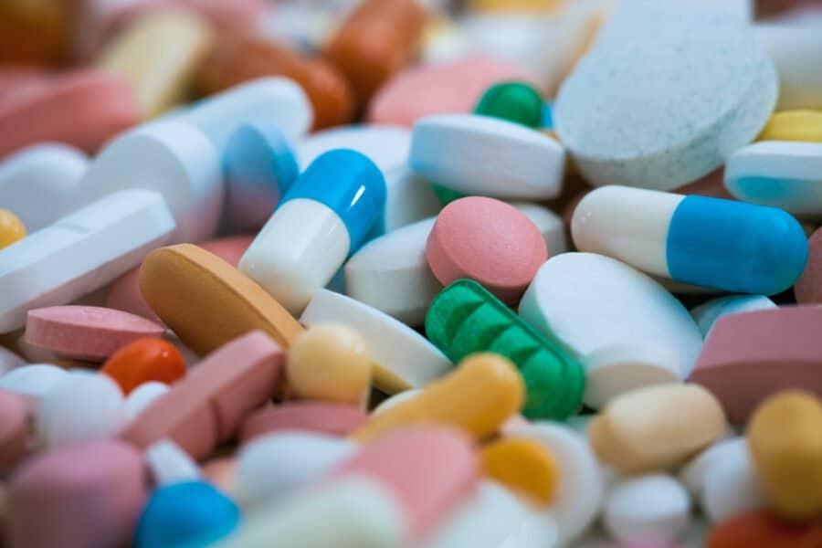 Medikamentenhaufen