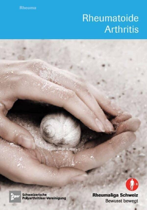 """Titelbild Broschüre """"Rheumatoide Arthritis"""""""