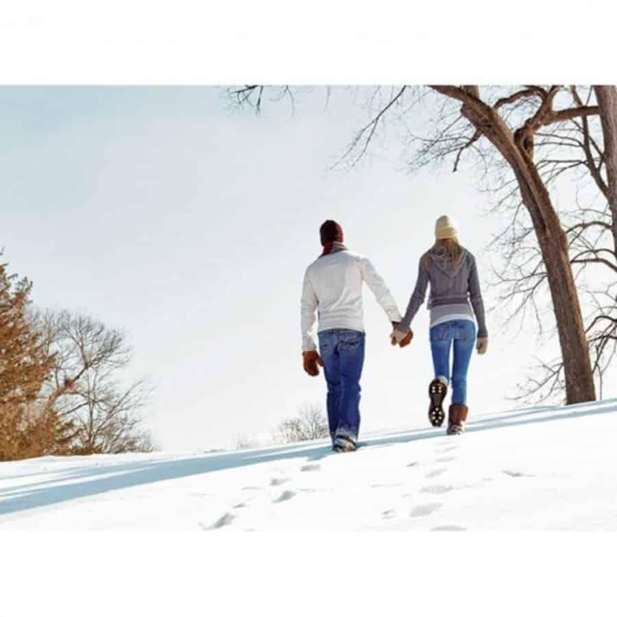 Im Winter sicher laufen mit Schuh Spikes