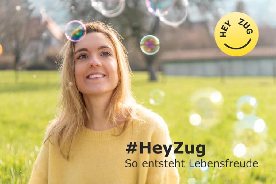 Hey Zug Slogan