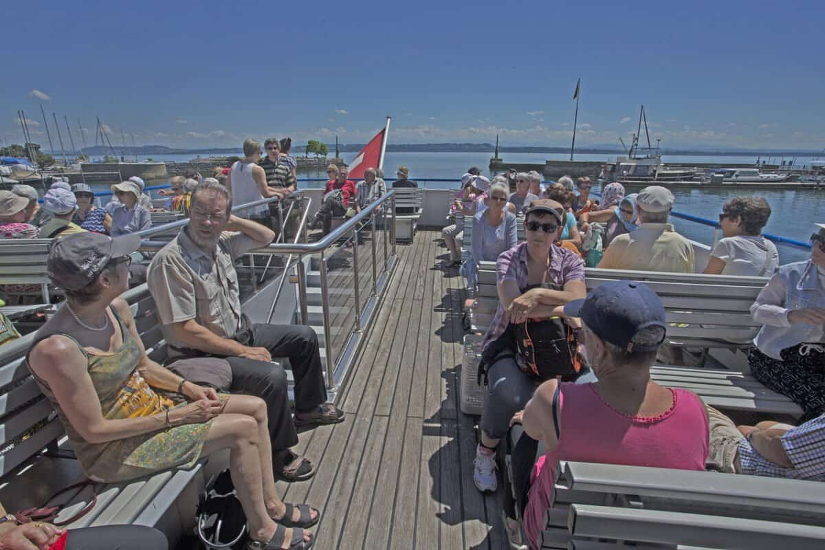 Départ au Port de Neuchâtel