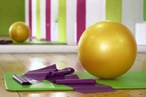 Ball Matte Gymband