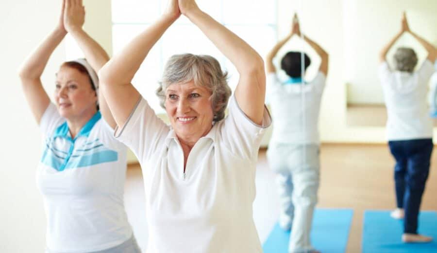 exercice physique contre le risque de chute